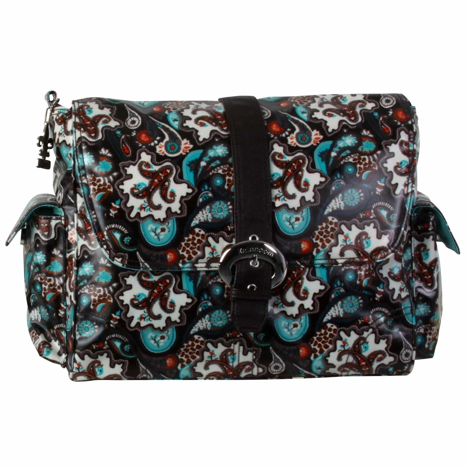 Safari Paisley Matte Coated Buckle Diaper Bag | Style 2960 - Kalencom-Diaper Bags-Jack and Jill Boutique