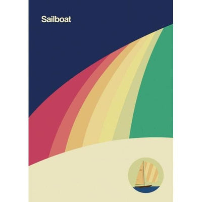 Sailboat Transportation | Canvas Wall Art-Canvas Wall Art-Jack and Jill Boutique
