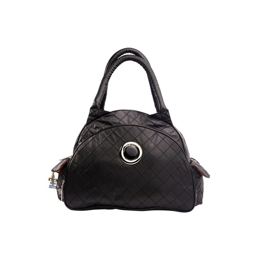 Sassy Black Continental Flair Diaper Bag | Style 2979 - Kalencom-Diaper Bags-Jack and Jill Boutique