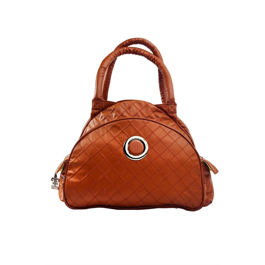 Sassy Caramel Continental Flair Diaper Bag | Style 2979 - Kalencom-Diaper Bags-Default-Jack and Jill Boutique