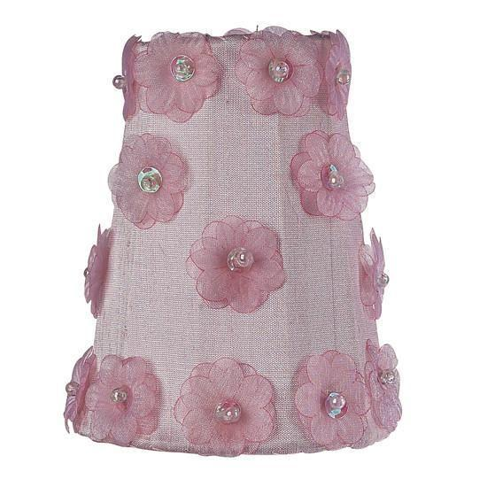 Sconce Shade - Petal Flower - Pink