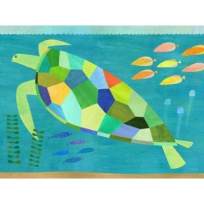 Sea Turtle Swim | Canvas Wall Art-Canvas Wall Art-Jack and Jill Boutique