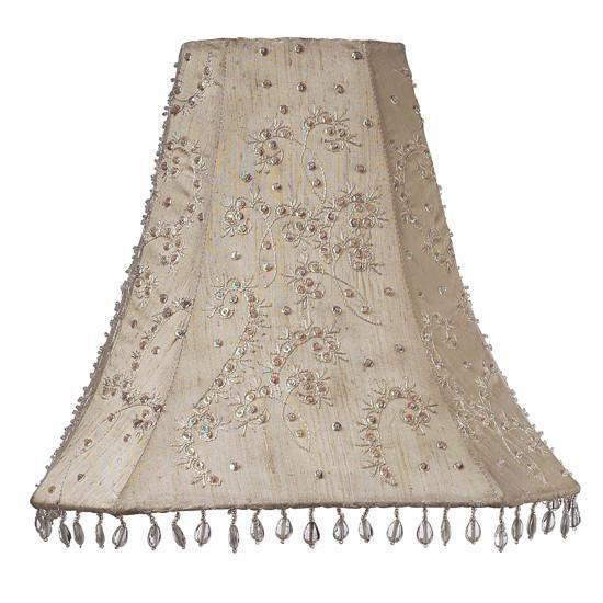 Shade - LG - Starburst - Ivory-Lamp Shades-Default-Jack and Jill Boutique