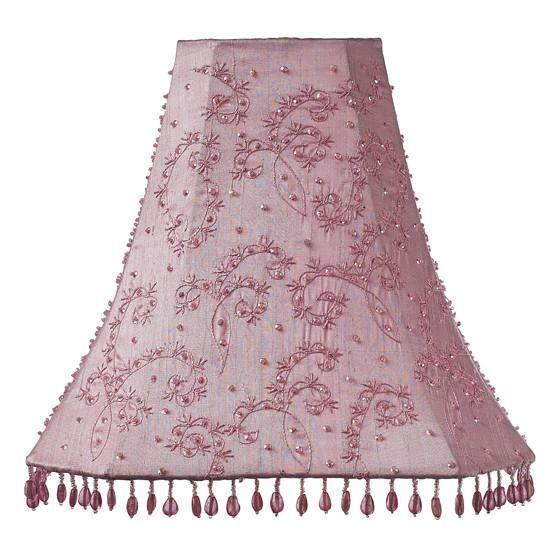 Shade - LG - Starburst - Pink-Lamp Shades-Default-Jack and Jill Boutique