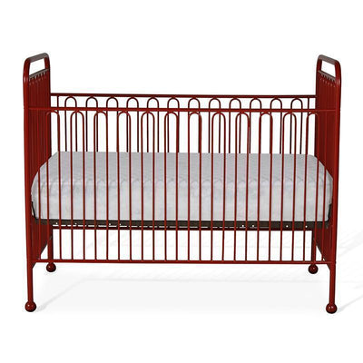 Simple Stationary Crib in Solid Iron-Cribs-Default-Jack and Jill Boutique