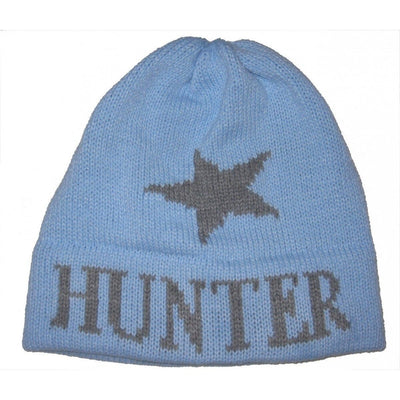 Single Star Personalized Knit Hat-Hats-Jack and Jill Boutique