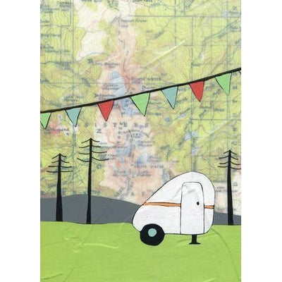 Sisters Camper | Canvas Wall Art-Canvas Wall Art-Jack and Jill Boutique