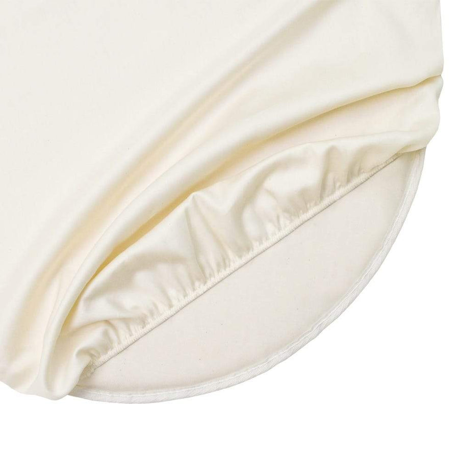 Organic Cotton Oval Baby Crib Mattress (27x47x3)