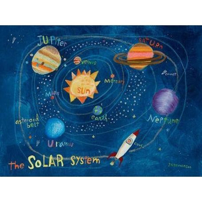 Solar System | Canvas Wall Art-Canvas Wall Art-Jack and Jill Boutique