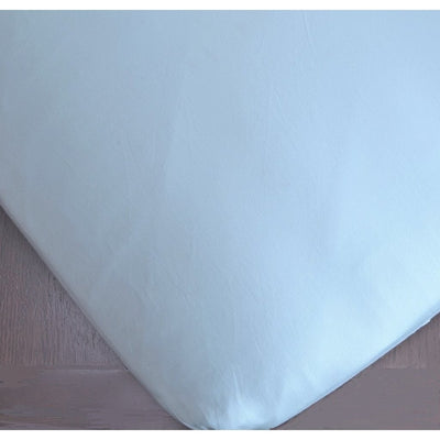 Solid Cotton Sateen Fitted Crib Sheet-Crib Sheets-Pool-Jack and Jill Boutique