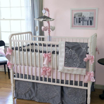 Sophia Luxury Baby Bedding Set-Crib Bedding Set-Default-Jack and Jill Boutique