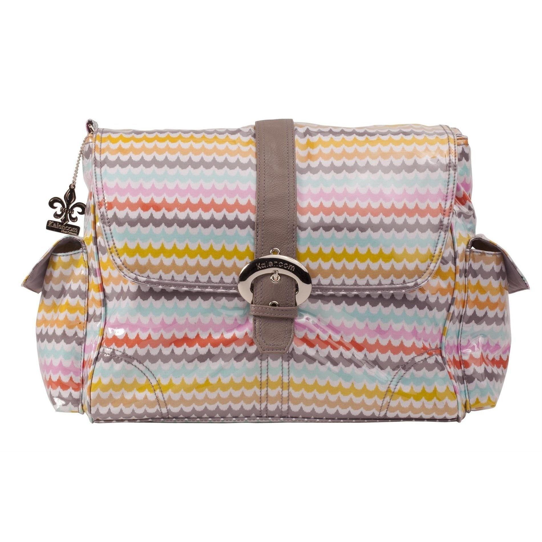 Spa Laminated Buckle Diaper Bag | Style 2960 - Kalencom-Diaper Bags-Jack and Jill Boutique