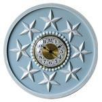 Spiraling Stars Wall Clock-Wall Clock-Jack and Jill Boutique