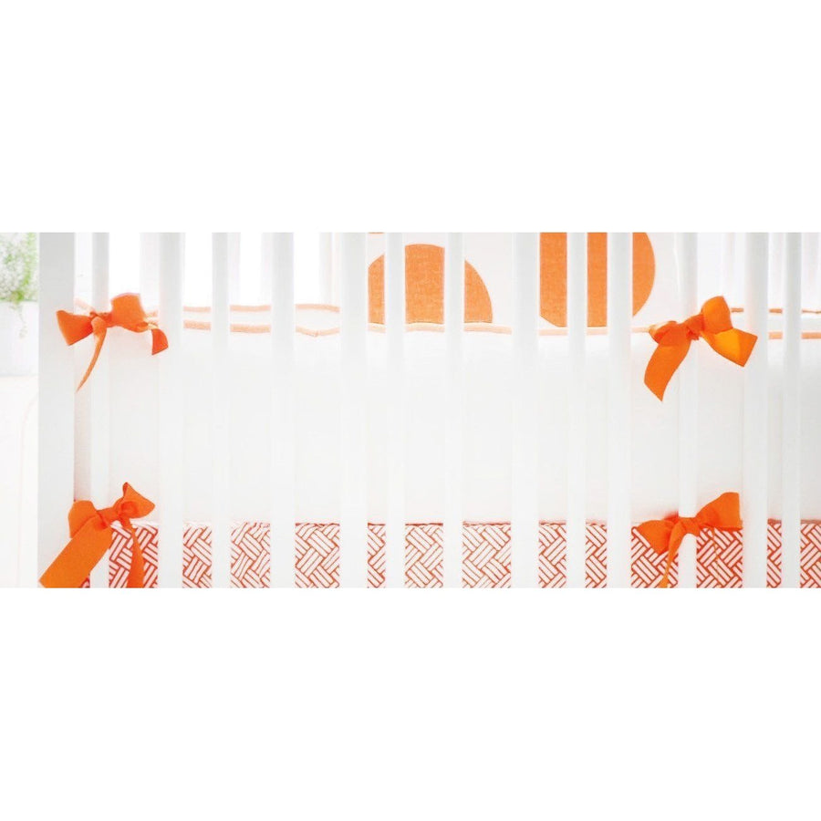 Spot On Tangerine Baby Bedding Set