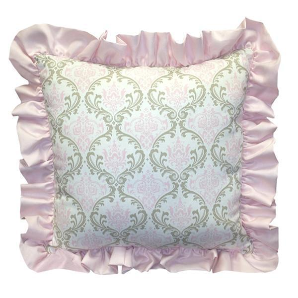 Square Pillow | Emma Luxury Baby Bedding Set-Square Pillows-Bebe Chic-Jack and Jill Boutique