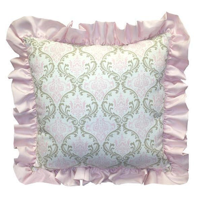 Square Pillow | Emma Luxury Baby Bedding Set-Square Pillows-Jack and Jill Boutique