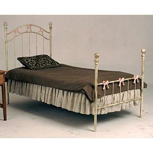 Standard Bed W/ Bows-Brass Bed-Jack and Jill Boutique