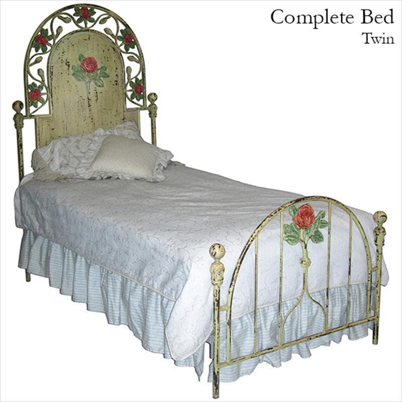 Standard Bed w/ Roses-Kids Bed-Default-Jack and Jill Boutique
