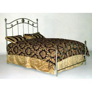 Standard Bed W/ Star, Sun and Moon-Brass Bed-Jack and Jill Boutique