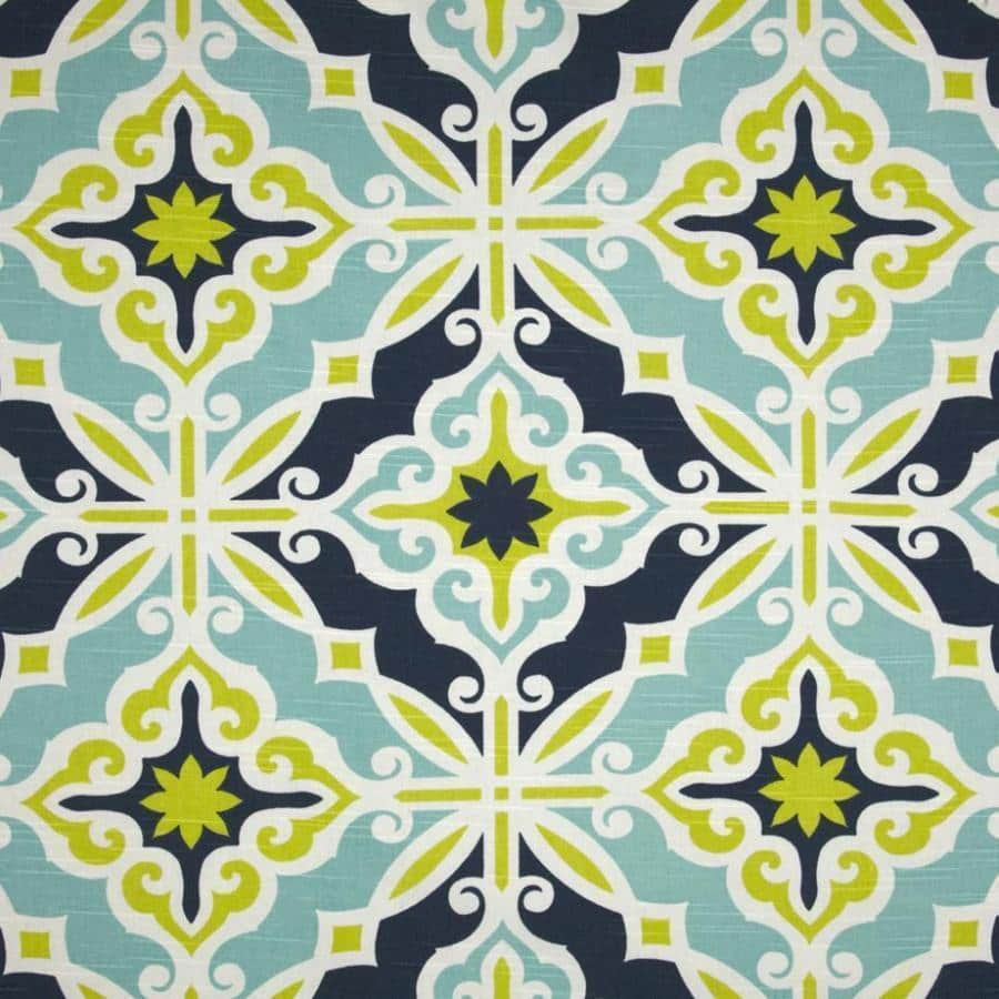 Starburst in Kiwi Designer Fabric by the Yard | 100% Cotton-Fabric-Jack and Jill Boutique