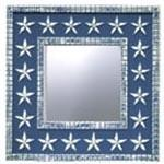 Stars and Stripes Wall Mirror 24 inch Square-Mirror-Jack and Jill Boutique