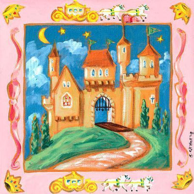 Storybook Castle | Canvas Wall Art-Canvas Wall Art-Jack and Jill Boutique