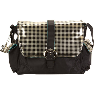 Style 2960 Harlequin Matte Coated Buckle Diaper Bag-Diaper Bags-Default-Jack and Jill Boutique