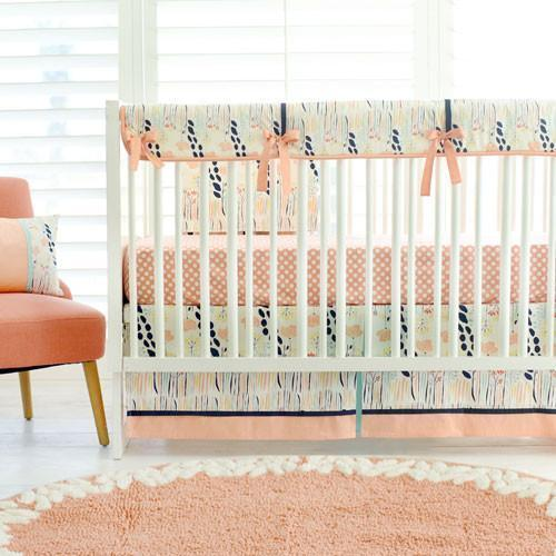 Summer Grove Bumperless Crib Baby Bedding Set-Crib Bedding Set-Jack and Jill Boutique
