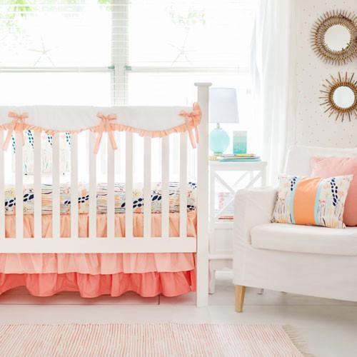Summer Grove II Bumperless Crib Baby Bedding Set-Crib Bedding Set-Jack and Jill Boutique