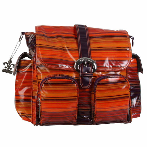 Sunset Matte Coated Double Duty Diaper Bag | Style 2991 - Kalencom-Diaper Bags-Jack and Jill Boutique