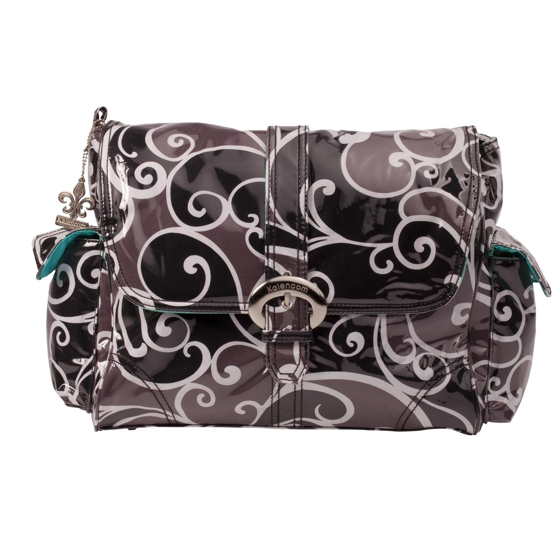 Surf Laminated Buckle Diaper Bag | Style 2960 - Kalencom-Diaper Bags-Default-Jack and Jill Boutique