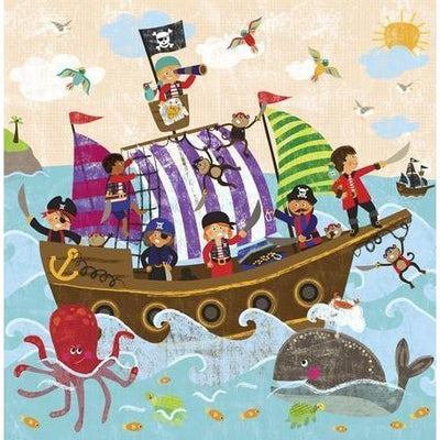 Swashbuckling Good Time | Canvas Wall Art-Canvas Wall Art-Jack and Jill Boutique
