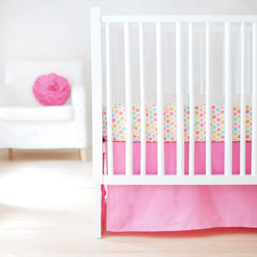 Sweet & Simple Seperates - Hot Pink Baby Bedding Set-Crib Bedding Set-Default-Jack and Jill Boutique
