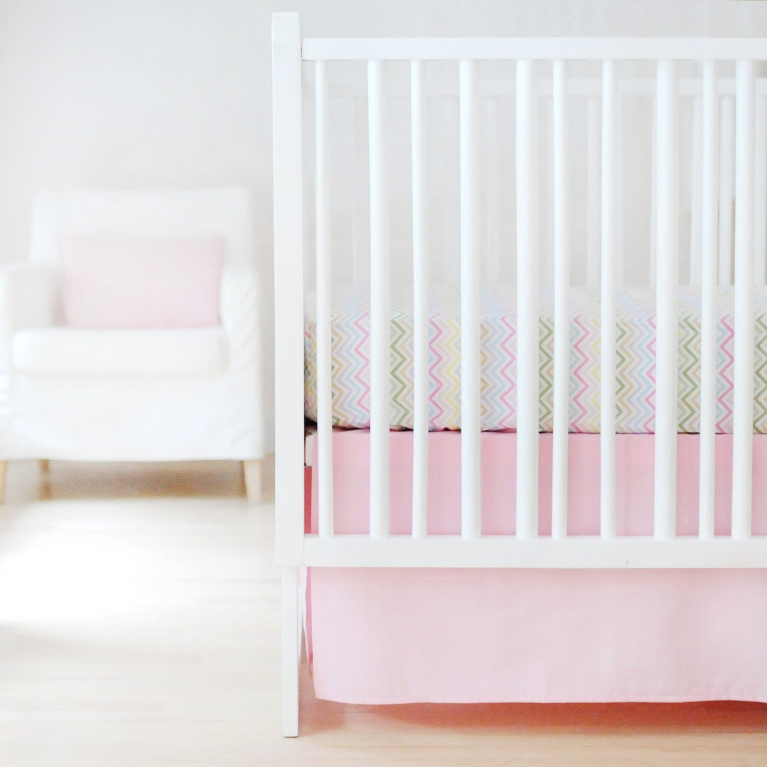 Sweet & Simple Seperates - Pink Baby Bedding Set-Crib Bedding Set-Jack and Jill Boutique