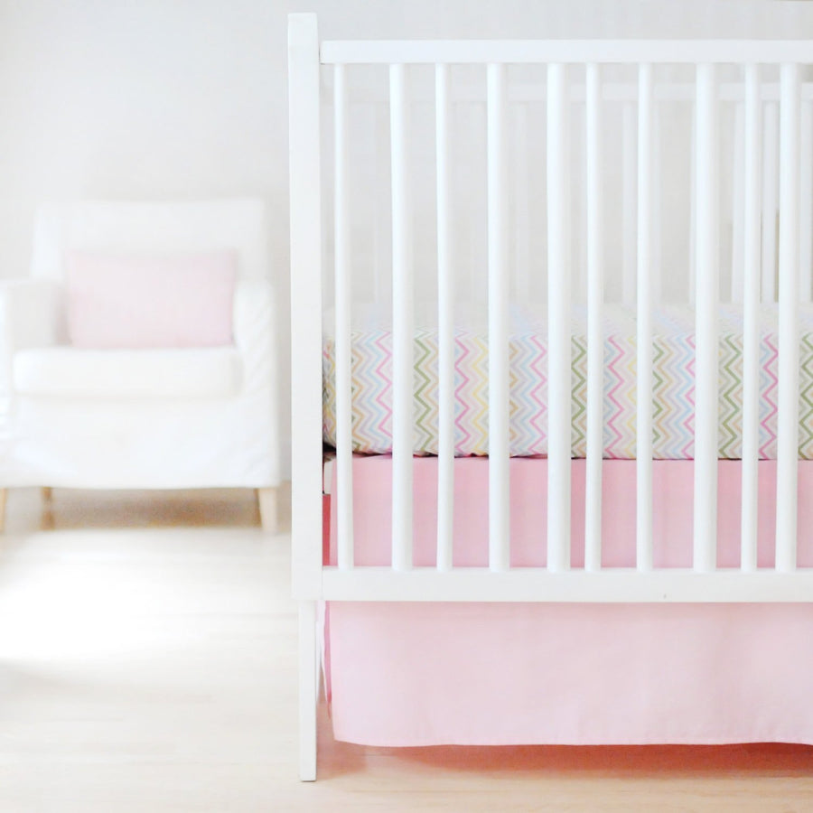 Sweet & Simple Seperates - Pink Baby Bedding Set
