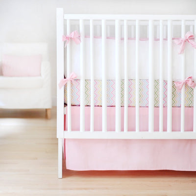 Sweet & Simple Seperates - Pink Baby Bedding Set-Crib Bedding Set-Default-Jack and Jill Boutique