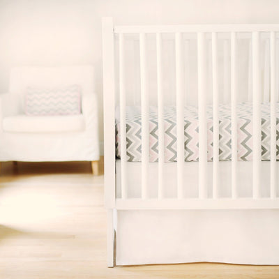 Sweet & Simple Seperates - White Baby Bedding Set-Crib Bedding Set-Default-Jack and Jill Boutique
