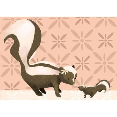 Sweet Skunks | Canvas Wall Art-Canvas Wall Art-Jack and Jill Boutique