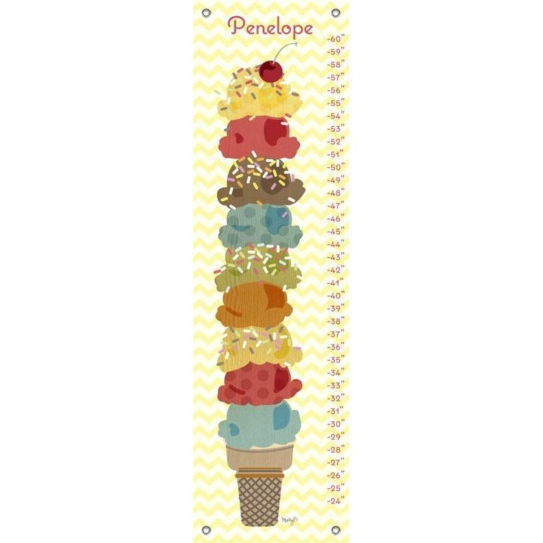 Sweet Treats Ice Cream Stack Growth Charts Jack And Jill Boutique
