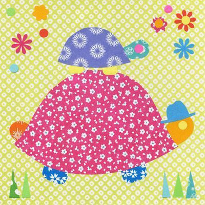 Tag Along Turtle | Canvas Wall Art-Canvas Wall Art-Jack and Jill Boutique
