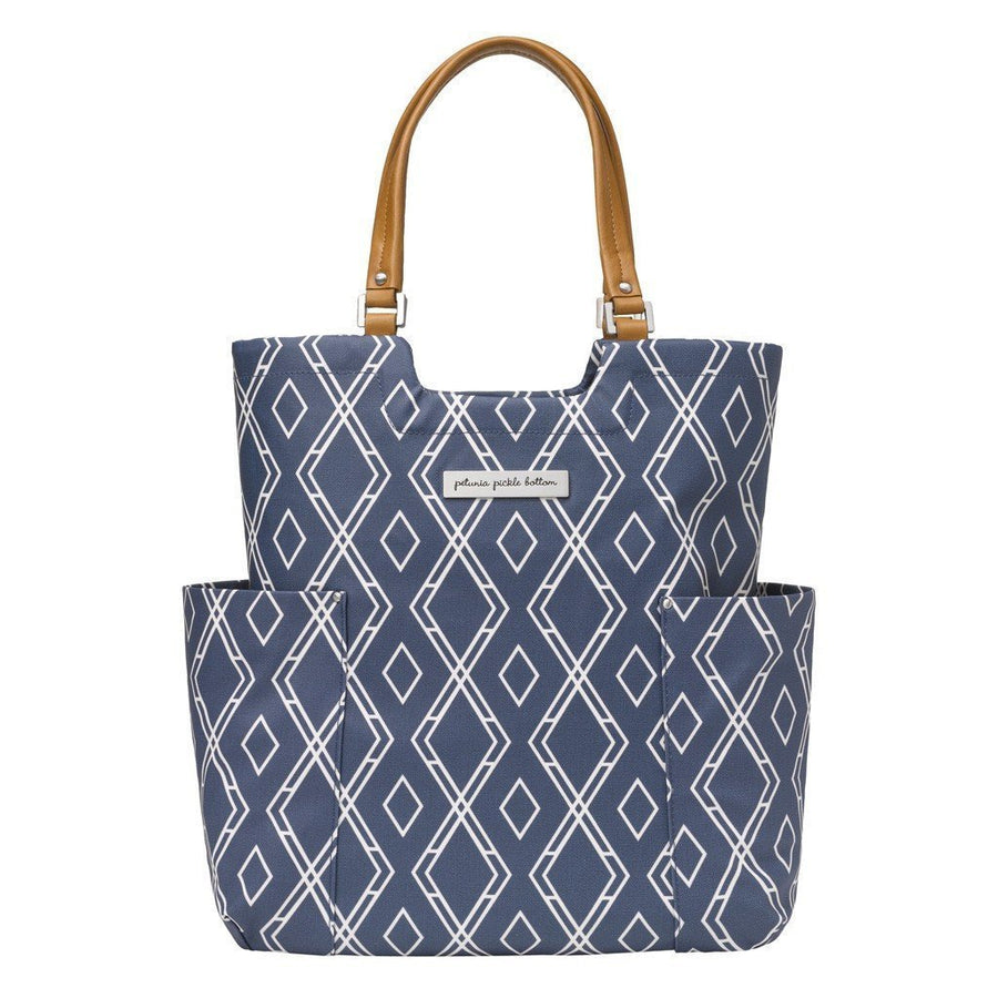 Tailored Tote Diaper Bags | Petunia Pickle Bottom-Diaper Bags-Jack and Jill Boutique