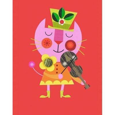 The Cat and the Fiddle | Canvas Wall Art-Canvas Wall Art-Jack and Jill Boutique