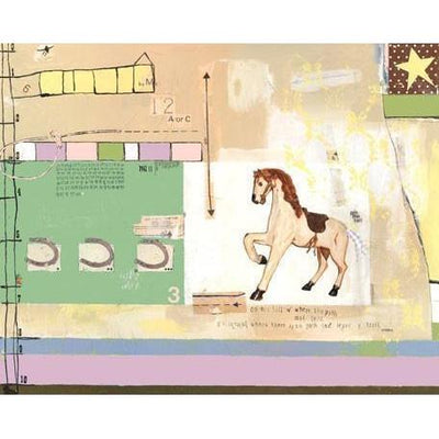 The Trail Home - girl | Canvas Wall Art-Canvas Wall Art-Jack and Jill Boutique
