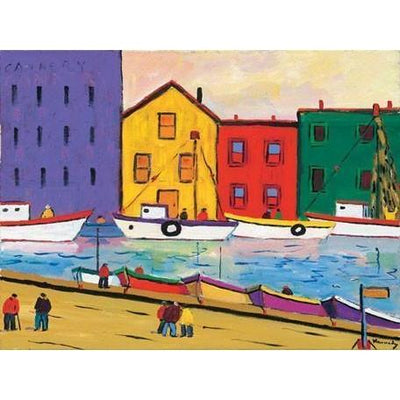 The Wharf | Canvas Wall Art-Canvas Wall Art-Jack and Jill Boutique