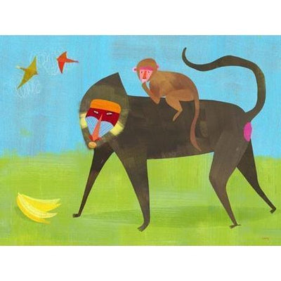 These Baboons are Bananas | Canvas Wall Art-Canvas Wall Art-Jack and Jill Boutique