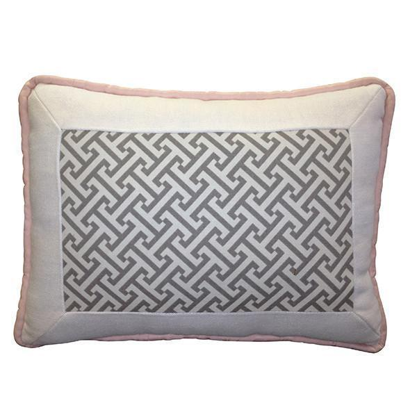Throw Pillow | Metro Luxury Baby Bedding Set-Pillow-Jack and Jill Boutique