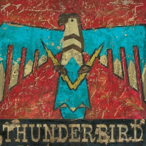 Thunderbird | American Southwest Art Collection | Canvas Art Prints-Canvas Wall Art-Jack and Jill Boutique