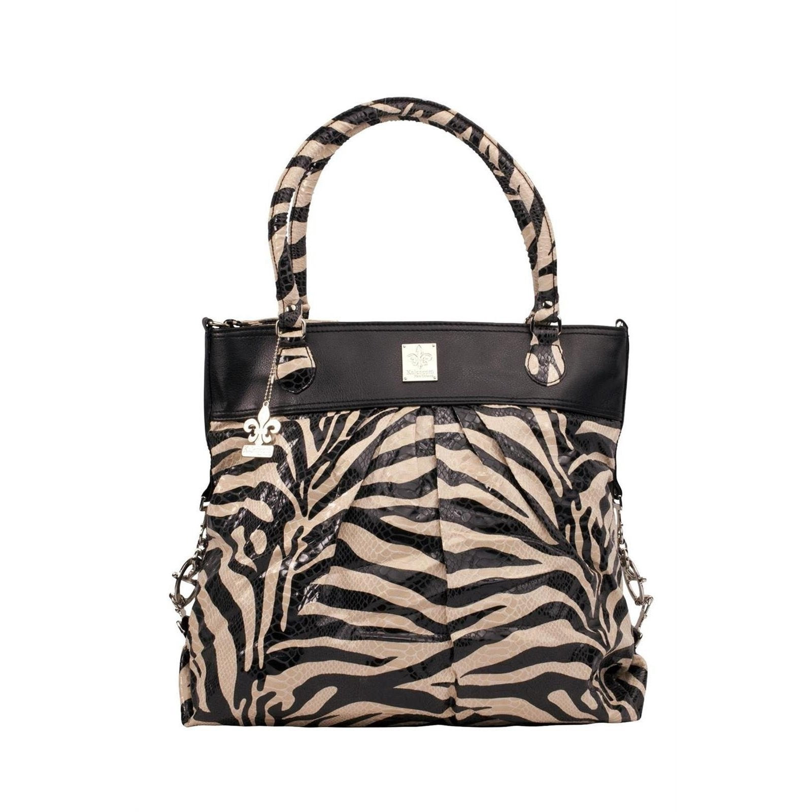 Tiger Black & Cream City Slick - On The Wild Side Diaper Bag | Style 2918 - Kalencom-Diaper Bags-Default-Jack and Jill Boutique