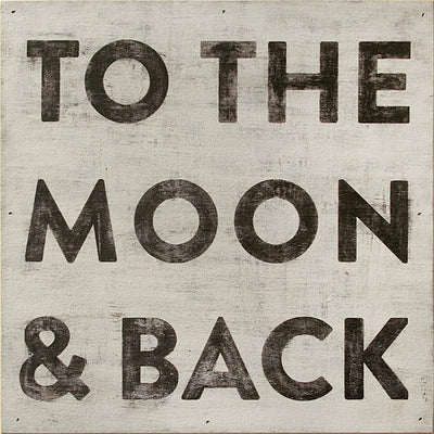 ART PRINT - To the Moon and Back-Art Print-Default-Jack and Jill Boutique