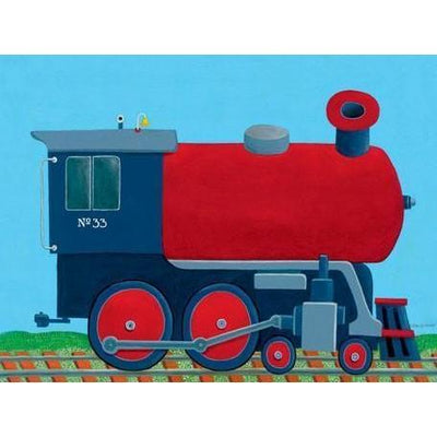 Train Engine | Canvas Wall Art-Canvas Wall Art-Jack and Jill Boutique